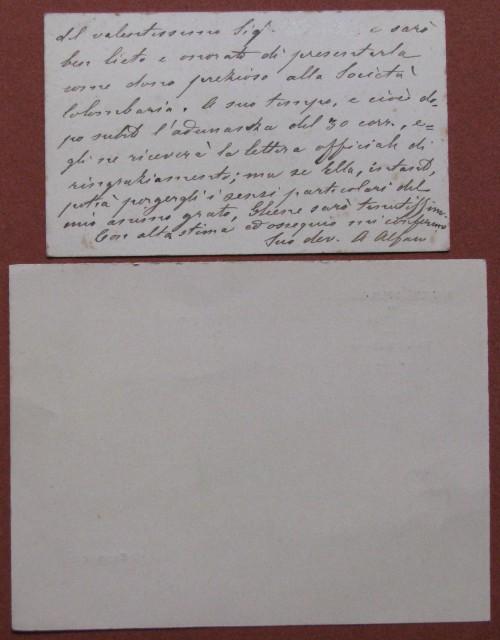 ALFANI AUGUSTO (Autografo)