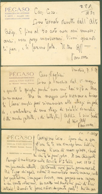 PANCRAZI PIETRO  (autografo)