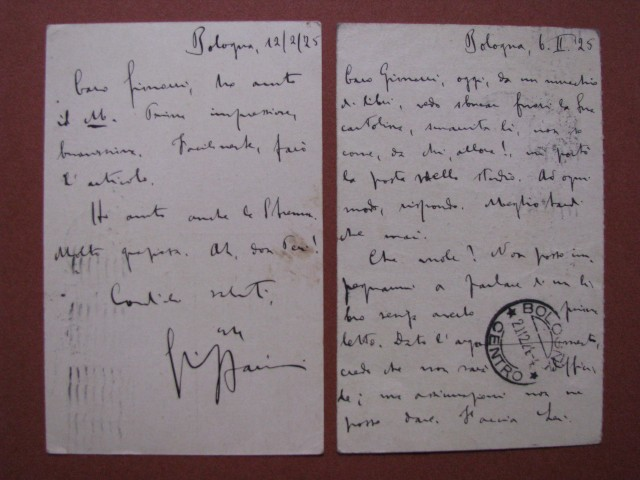 LIPPARINI GIUSEPPE (Bologna 1877 '– Bologna 1951). Poeta, scrittore e critico letterario italiano.