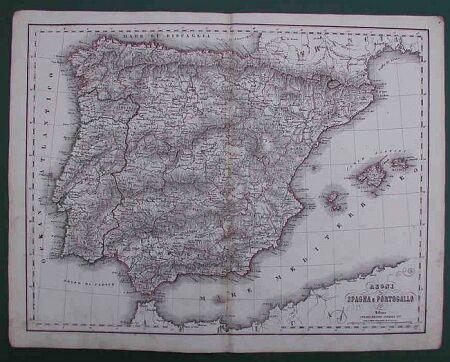 Regni di Spagna e Portogallo.
