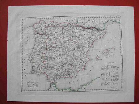 Regni di Spagna e di Portogallo.