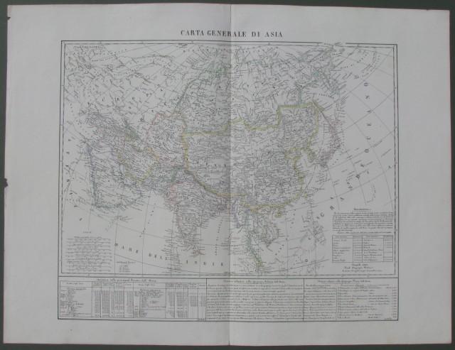 Carta Generale di Asia