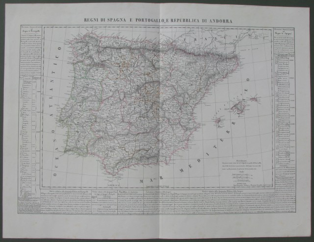 Regni di Spagna e Portogallo, e Repubblica di Andorra (Penisola Iberica)