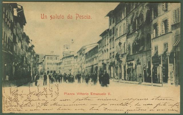 PESCIA (Pistoia). Piazza Vittorio Emanuele II.