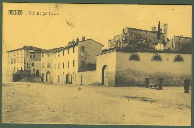 FUCECCHIO (Firenze). Via Borgo Nuovo.