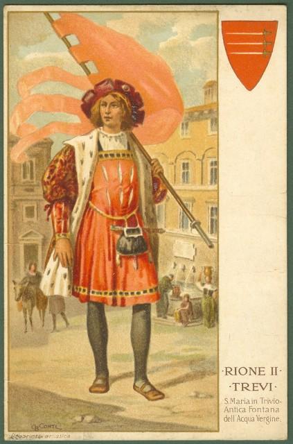 ROMA - RIONE II - TREVI