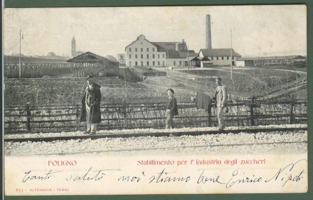 Foligno (Perugia). Stabilimento per l'industria degli zuccheri.