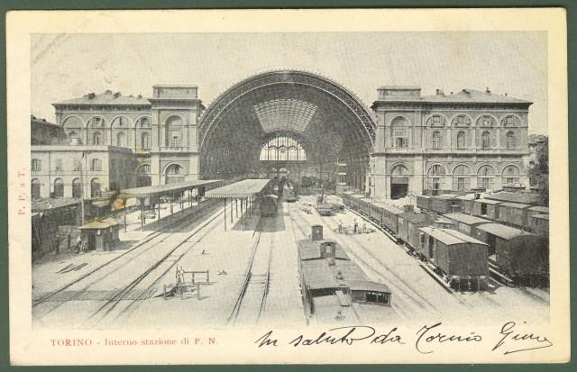Torino. Interno stazione.