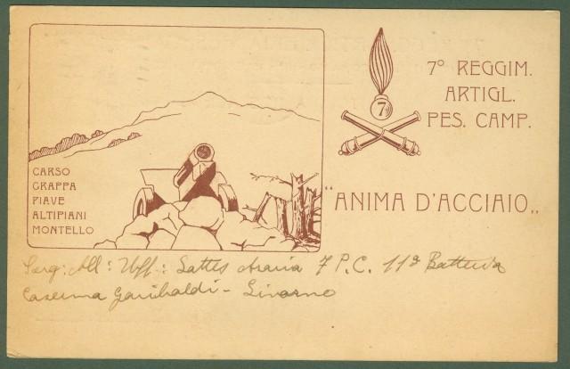 7'° Reggimento Artiglieria Pesante Campale.