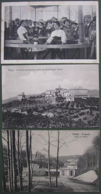 FIUGGI. Tre cartoline