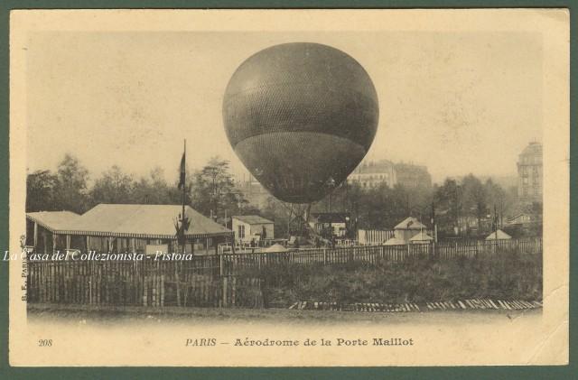 MONGOLFIERA. Aèrodrome de la Porte Maillot