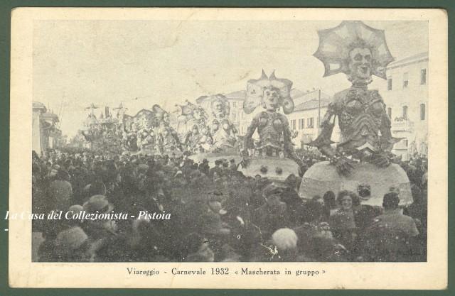 VIAREGGIO. CARNEVALE 1932.