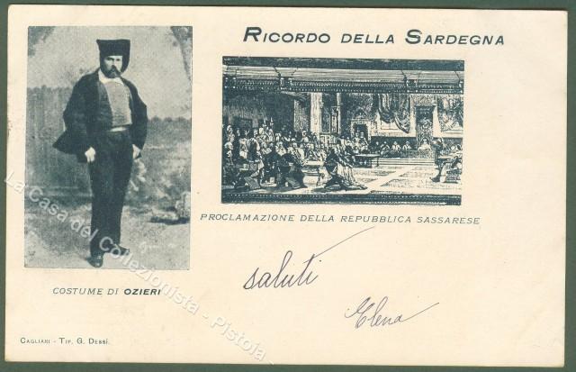 Sardegna. RICORDO DELLA SARDEGNA.