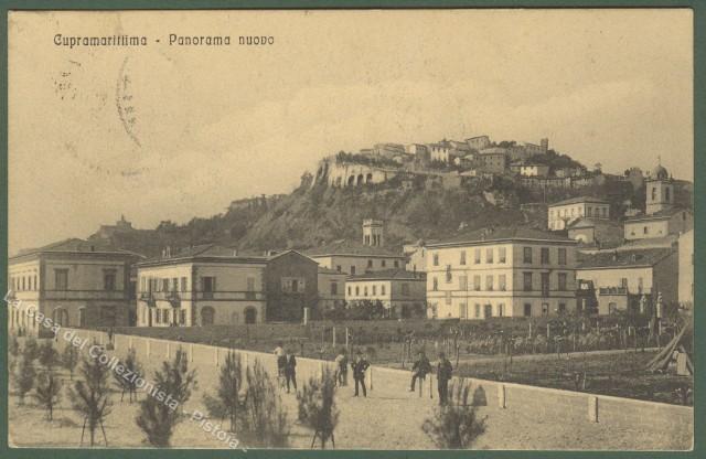 MARCHE. Cupramarittima (Ascoli Piceno). Panorama. Viaggiata 1914