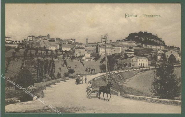 MARCHE. Fermo (Ascoli). Panorama. Non viaggiata, circa 1910