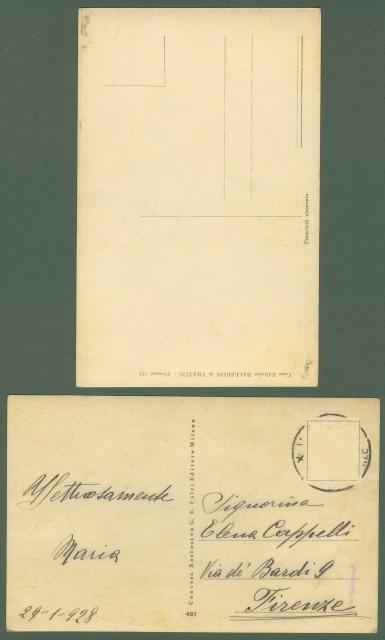 RODOLFO VALENTINO. Due cartoline d'epoca non viaggiate, anni venti.