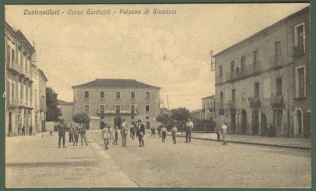 (Calabria - Cosenza) Castrovillari. Corso Garibaldi - Palazzo di Giustizia.