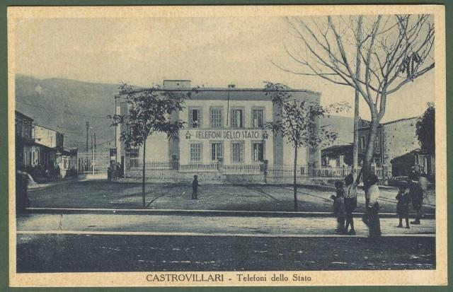 (Calabria - Cosenza) CASTROVILLARI. Telefoni dello Stato.