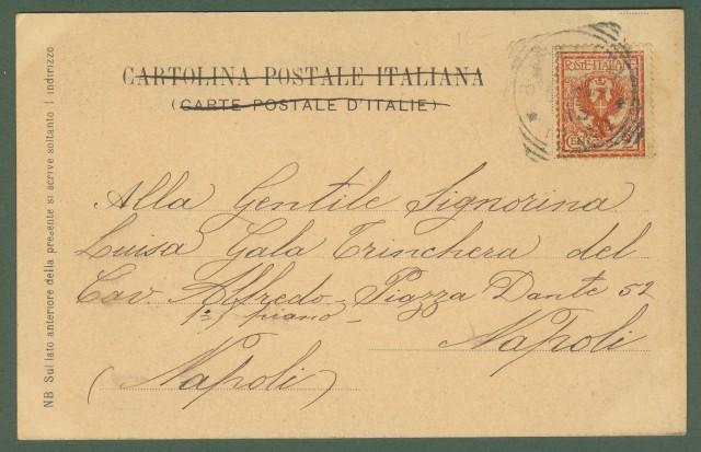 (Puglia) BARLETTA. 13 febbraio 1903. IV Centenario della Disfida di Barletta. Cartolina d'epoca viaggiata nel 1903.