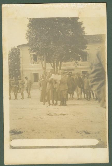 PRIMA GUERRA. Caporetto. Cartolina fotografica, circa 1917