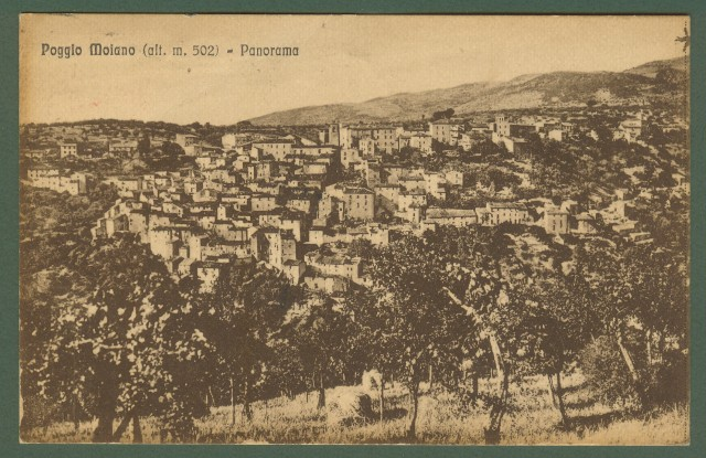 POGGIO MOIANO, Rieti. Panorama