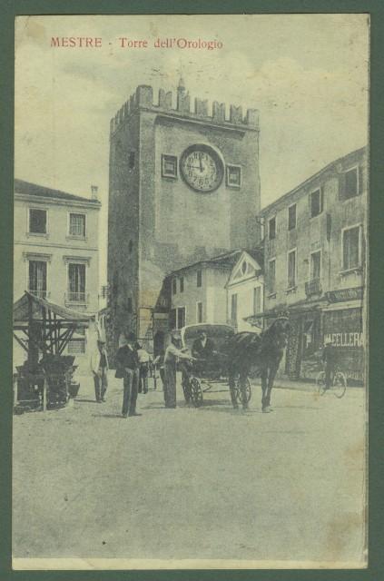 MESTRE (Venezia). Torre dell'Orologio.