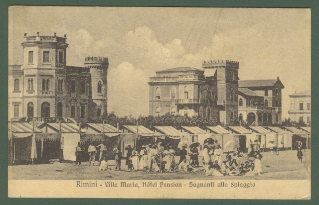 RIMINI, Villa Maria, Hotel Pension