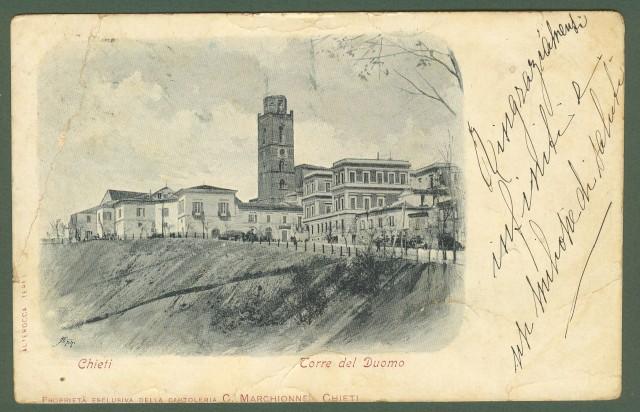 CHIETI. Torre del Duomo