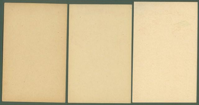 CROCE ROSSA AMERICANA IN ITALIA. Tre cartoline, 2 tipi diversi