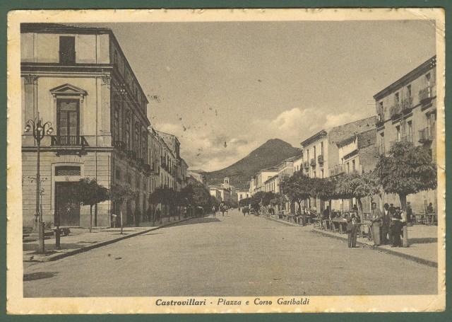 CASTROVILLARI (Cosenza). Piazza e Corso Garibaldi