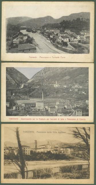 TARCENTO (Udine). 3 cartoline non viaggiate, circa 1910/20.