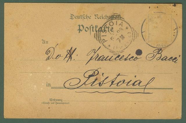 GERMANIA. Gruss ans Ohanngeorgestadt.. Cartolina d'epoca viaggiata nel 1899