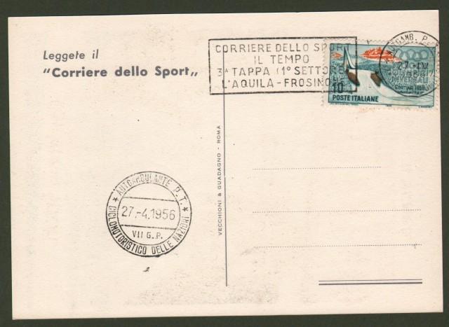 MOTOCICLISMO. VII'° GRAN PREMIO CICLOMOTORISTICO DELLE NAZIONI. ANNO 1956.