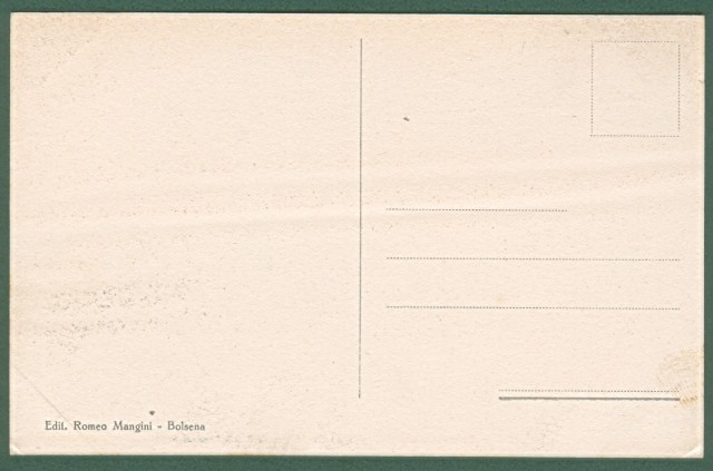 BOLSENA, Viterbo. Viale dei platani. Cartolina d'epoca non viaggiata, inizio '900