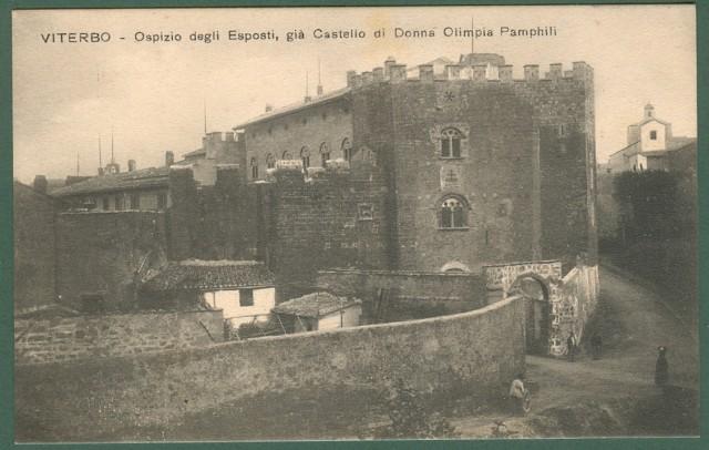 VITERBO. Ospizio degli Esposti. Cartolina d'epoca non viaggiata, circa 1910