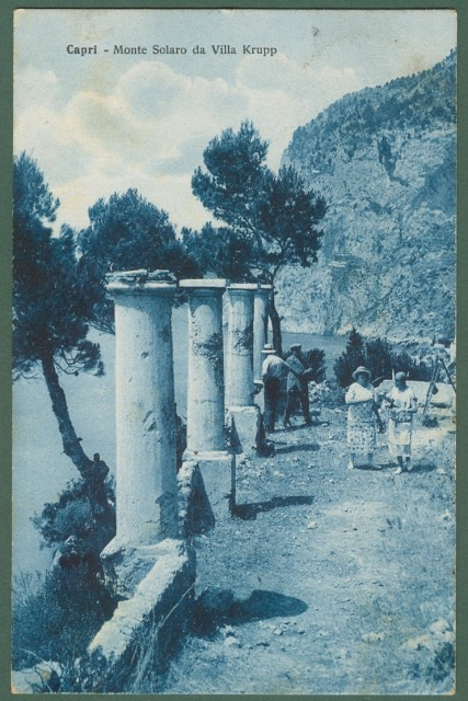 CAPRI, Campania. Monte Solaro da Villa Krupp