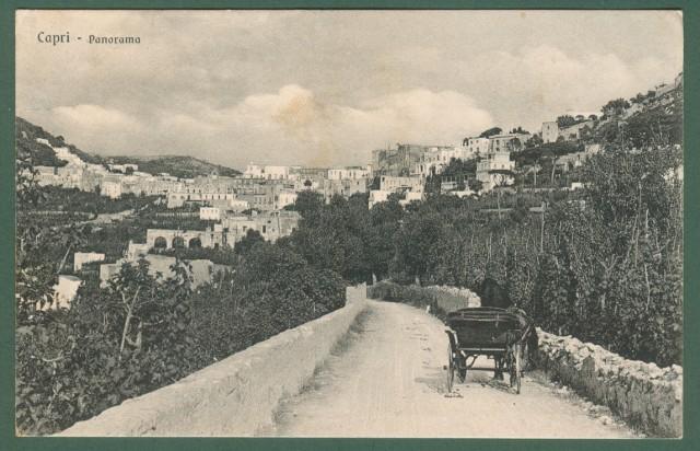CAPRI, Campania. Panorama.
