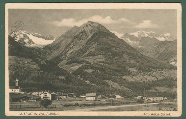 LUTAGO IN VAL AURINA, Bolzano. Panorama