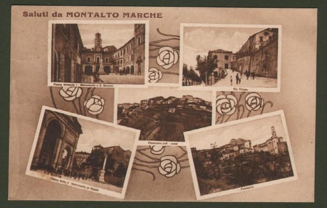MONTALTO MARCHE, Ascoli Piceno. Saluti da.