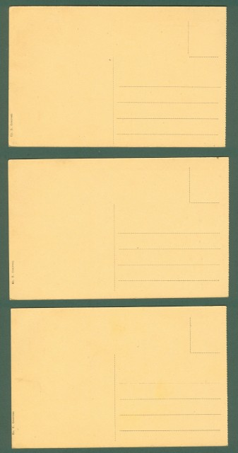 IVREA. Torino. Tre cartoline d'epoca non viaggiate, circa 1930.