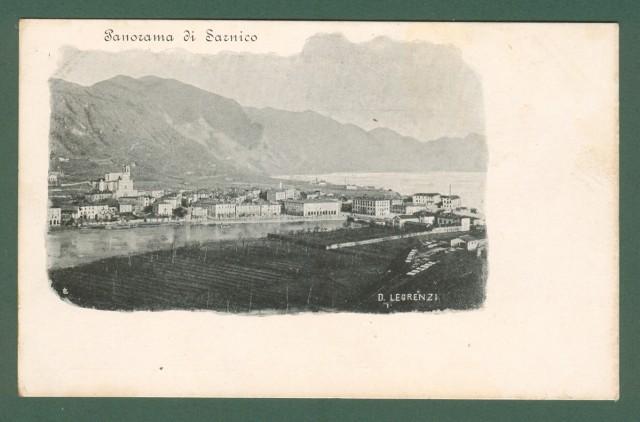 SARNICO. Bergamo. Panorama. Cartolina d'epoca non viaggiata, inizio 1900.