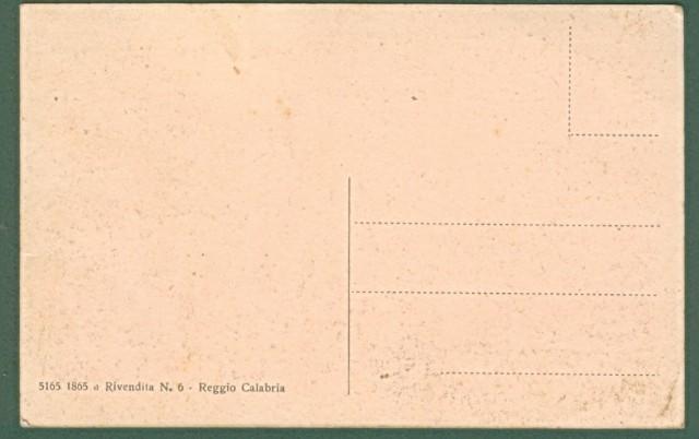 REGGIO CALABRIA. Partenza Ferry Boats. Cartolina d'epoca non viaggiata, circa 1920