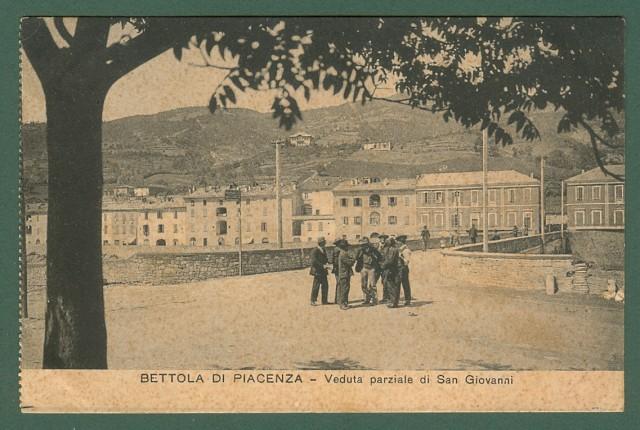 BETTOLA DI PIACENZA. Veduta parziale di San Giovanni.