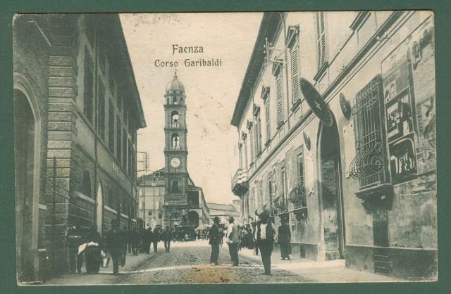 FAENZA, Ravenna. Corso Garibaldi.