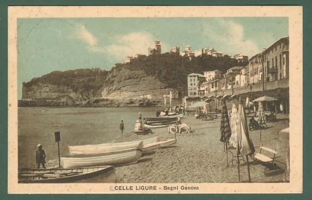 CELLE LIGURE (Savona). Bagni di Genova.