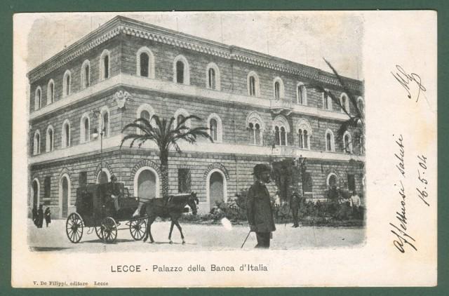LECCE. Palazzo della Banca d'Italia.