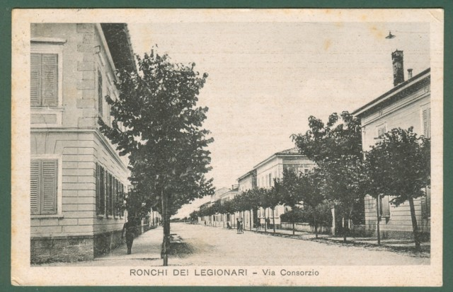 RONCHI DEI LEGIONARI (Gorizia). Via Consorzio.