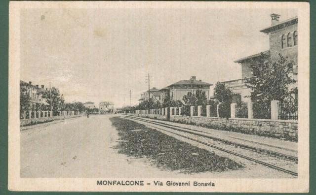 MONFALCONE (Gorizia). Via Giovanni Bonavia.