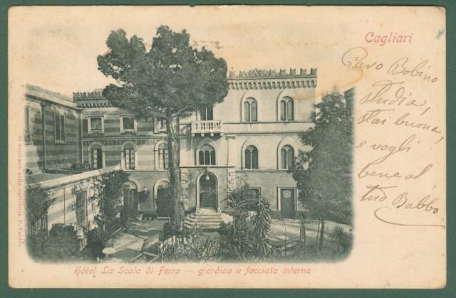 Sardegna. CAGLIARI. Hotel La Scala di Ferro.