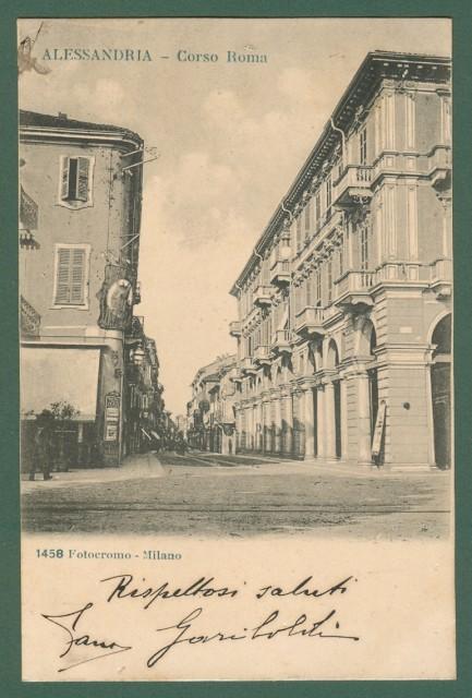 Piemonte. Alessandria. Corso Roma.